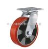 6系列双轴承红色铝芯PU平底活动